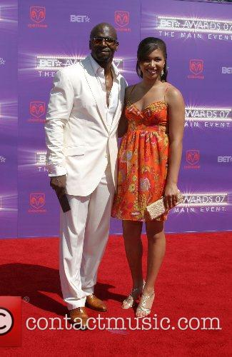 Terry Crews and Daughter B.E.T.Awards 2007 held at...