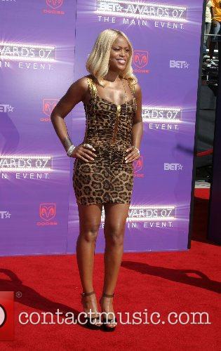 Eve B.E.T.Awards 2007 held at The Shrine -...