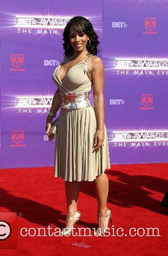 Megan Ford B.E.T.Awards 2007 held at The Shrine...