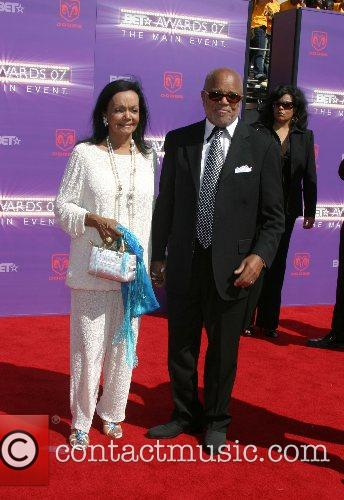 Berry Gordy and Wife B.E.T.Awards 2007 held at...