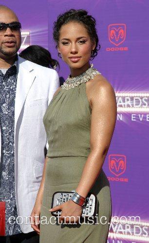 Alicia Keys B.E.T.Awards 2007 held at The Shrine...