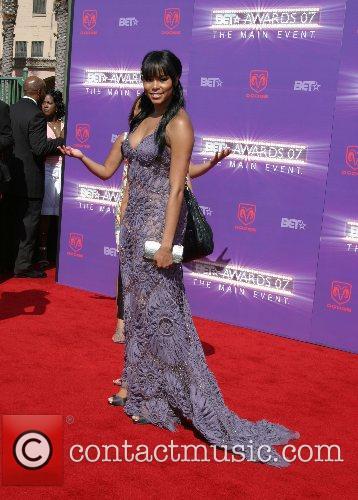 LeToya Luckett B.E.T.Awards 2007 held at The Shrine...