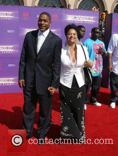 Norm Nixon & Debbie Allen B.E.T.Awards 2007 held...