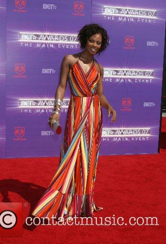 Eva Pigford B.E.T.Awards 2007 held at The Shrine...
