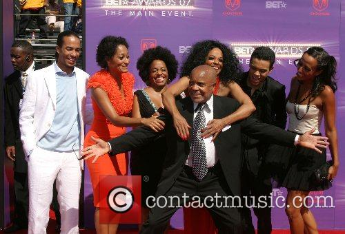 Diana Ross & Family, with Berry Gordy (Father...