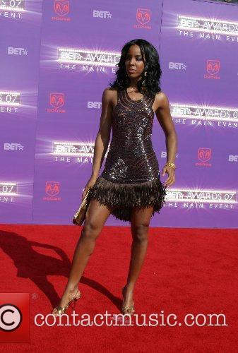Kelly Rowland B.E.T.Awards 2007 held at The Shrine...
