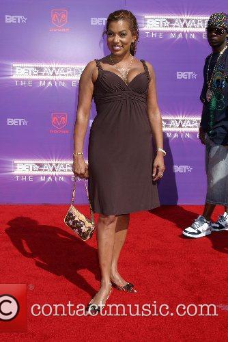 Rolanda Watts B.E.T.Awards 2007 held at The Shrine...