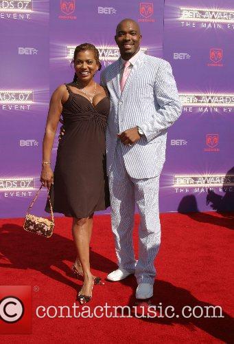 Rolanda Watts & guest B.E.T.Awards 2007 held at...