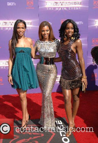 Michelle Williams , Kelly Rowland and Beyonce Knowles...