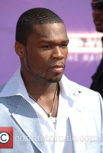50 cent B.E.T.Awards 2007 held at The Shrine...