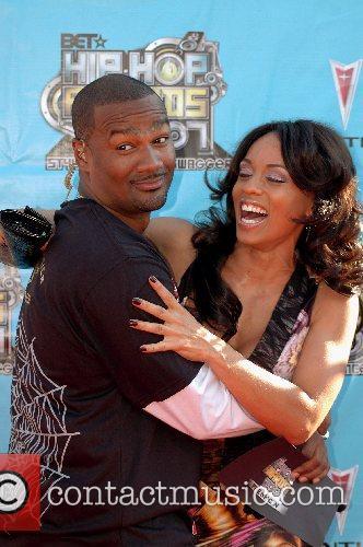 Tigger and Melissa Ford 2007 BET Hip-Hop Awards...