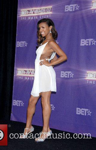 Melody Thornton B.E.T.Awards 2007 held at The Shrine...