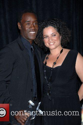 Don Cheadle and Bridgid Coulter B.E.T.Awards 2007 held...