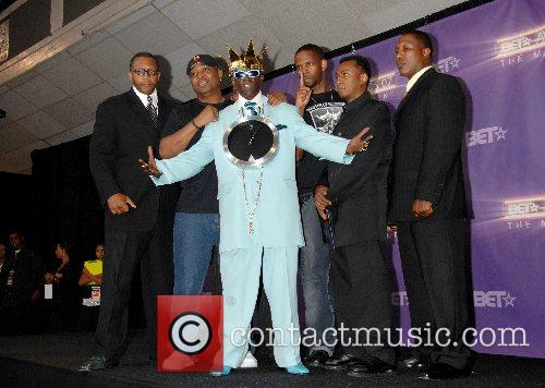 Flavor Flav and Public Enemy B.E.T.Awards 2007 held...