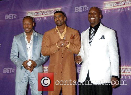 Tank, Ginuwine, and Tyrese Gibson  B.E.T.Awards 2007...