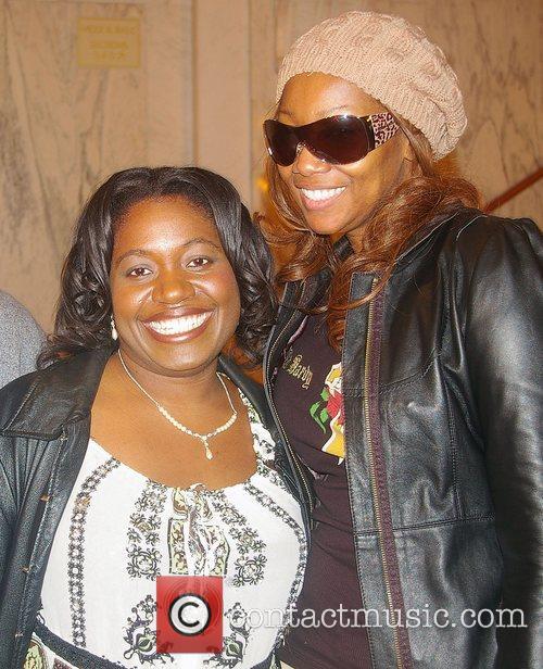 Yolanda Adams (right) Rehearsals for 2008 BET Celebration...