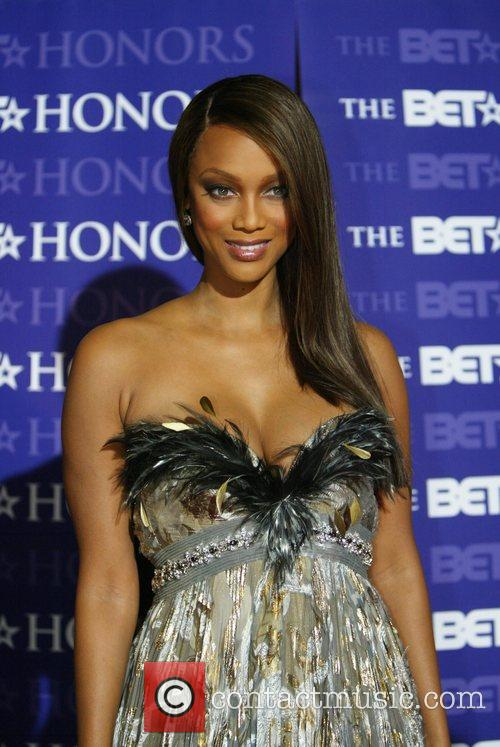 Tyra Banks '2008 BET Honors' held at The...