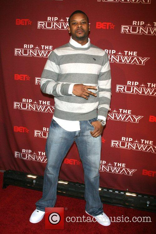 Kerry Rhodes BET 'Rip the Runway' at the...