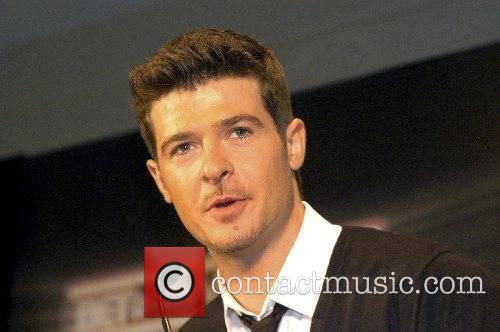 Robin Thicke BET Awards 2007 Nominee Announcements Hollywood,...