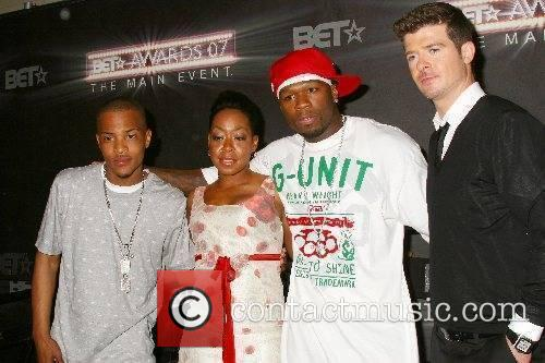 T.I., Tichina Arnold, 50 Cent and Robin Thicke...