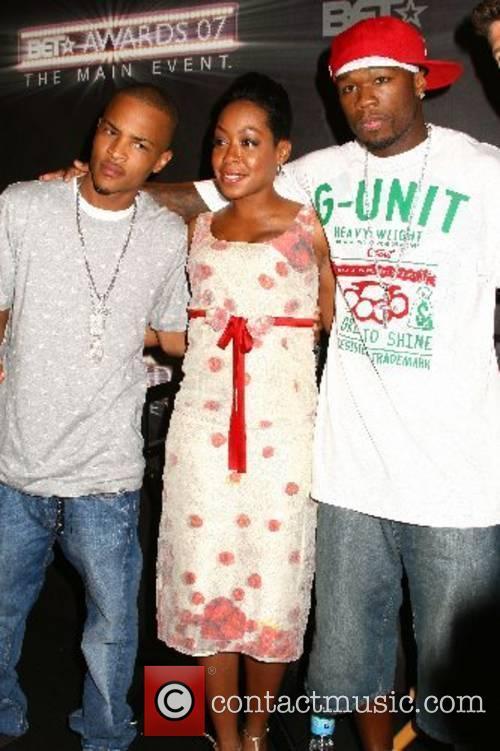 T.I., Tichina Arnold, 50 Cent BET Awards 2007...