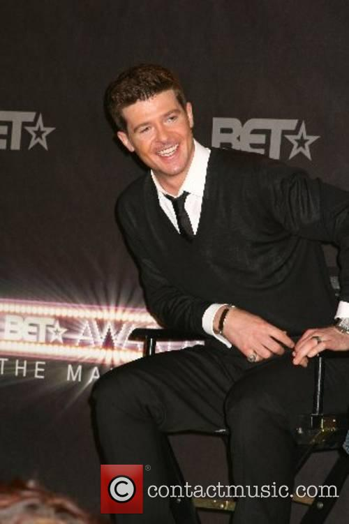 Robin Thicke BET Awards 2007 nominations announcement held...