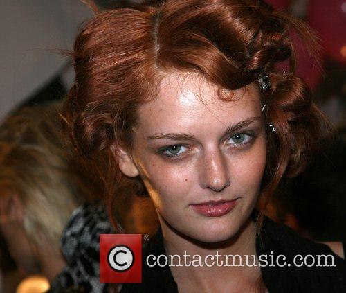 Lydia Hearst Mercedes-Benz Fashion Week New York Spring...