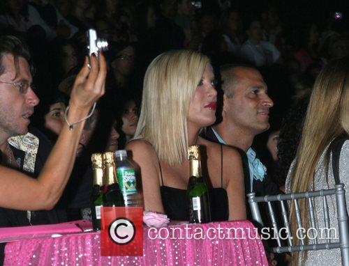 Dean McDermot and Tori Spelling Mercedes-Benz Fashion Week...