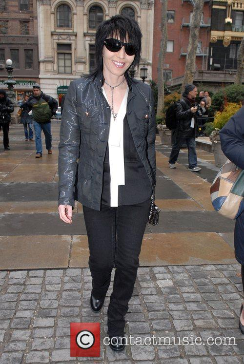 Joan Jett, Mercedes Benz Fashion Week