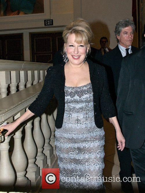 Bette Midler  arrives at the aftershow party...