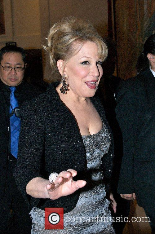 Arrives at the aftershow party for 'The Showgirl...
