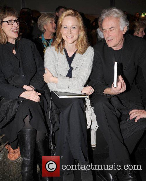 Laura Linney, Sir Richard Eyre and London Fashion Week 3