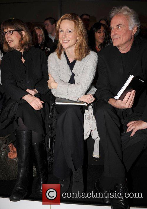 Laura Linney, Sir Richard Eyre and London Fashion Week 1