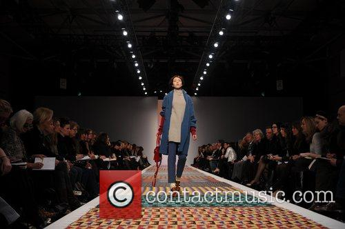 Model and London Fashion Week 10