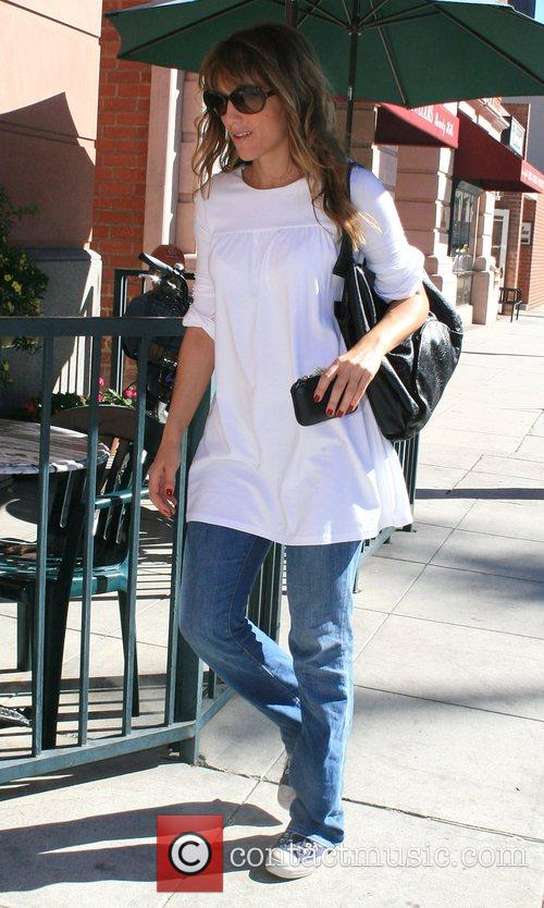 Jennifer Esposito out and about in Beverly Hills...