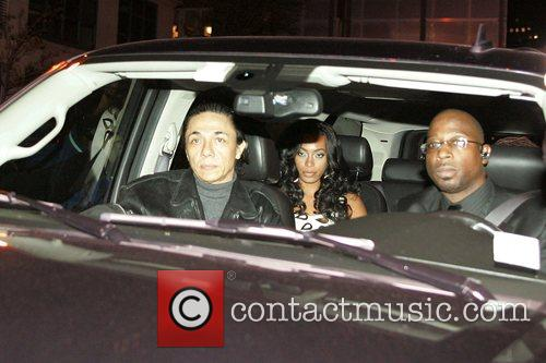 Solange Knowles arrives at Jay-Z's TriBeCa apartment where...