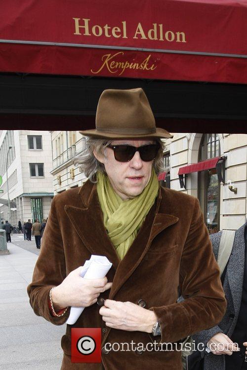 Sir Bob Geldof outside Adlon Hotel at Pariser...