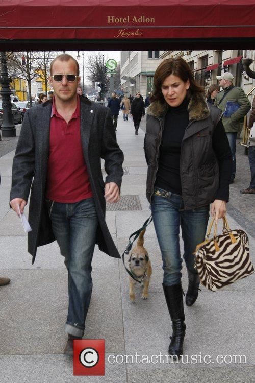 Heino Ferch, Marie-jeanette Ferch and Dog 2