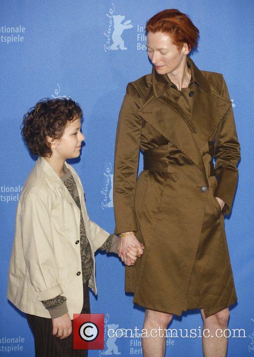 Aidan Gould, Tilda Swinton Berlin Film Festival 2008...