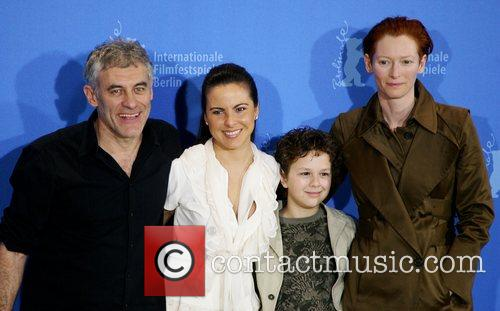 Erick Zonca, Kate Del Castillo, Aidan Gould and Tilda Swinton