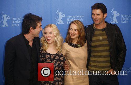 Justin Chadwick, Eric Bana, Natalie Portman and Scarlett Johansson 1
