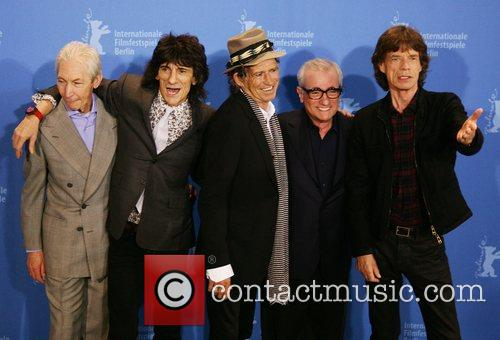 Rolling Stones and Director Martin Scorsese 3