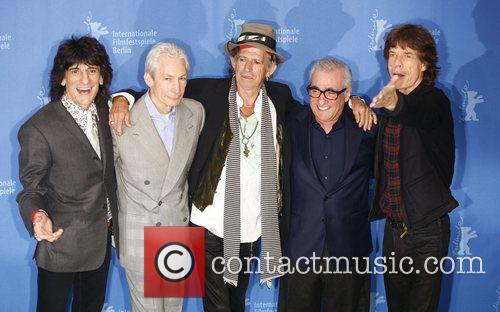 Rolling Stones and Director Martin Scorsese 1