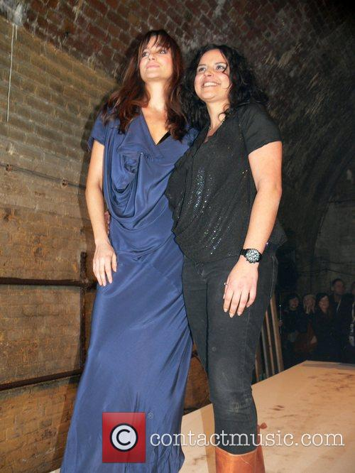 Alexandra Kamp, Martina Rau Mercedes Benz Fashion Week...