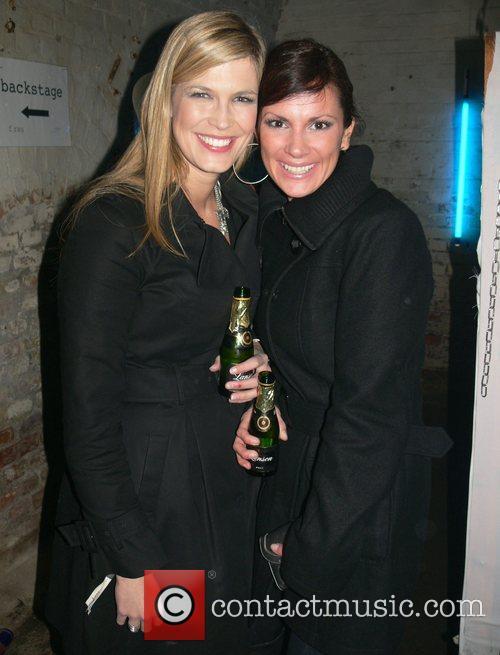 Verena Wriedt, Kerstin Linnartz Mercedes Benz Fashion Week...