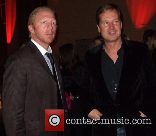 Boris Becker, Philipp Wolff Mercedes Benz Fashion Week...