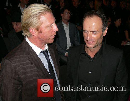 Boris Becker and Bruno Saelzer 1