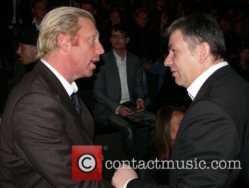 Boris Becker, Klaus Wowereit Mercedes Benz Fashion Week...