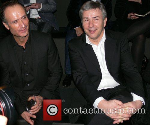 Bruno Saelzer, Klaus Wowereit Mercedes Benz Fashion Week...