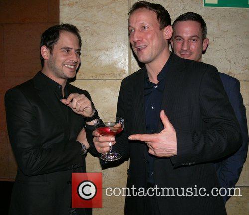 Moritz Bleibtreu, Wotan Wilke Moehring, guest Mercedes Benz...